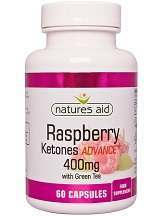 Natures Aid Raspberry Ketones Advance + with Green Tea Review